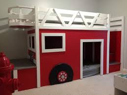 100 Kids Fire Truck Bed Gallery Wall For Room Decoration With Bunk And
