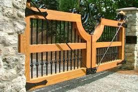 Handmade Wood Gate Ohio Permalink Gallery