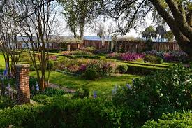 The English Garden at the Cummer Art Museum Picture of The