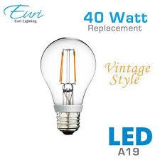 vintage filament led a19 light bulb euri va19 1000 earthled