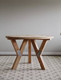 Dining Tables Cool Brown Round Rustic Wooden Diy Table Stained Ideas Interesting