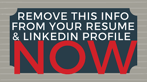 Remove This Information From Your Resume & LinkedIn Profile Everything You Need To Know About Using Linkedin Easy Apply Resume Icons Logos Symbols 100 Download For Free How Design Your Own Resume Ux Collective Do You Post A On Lkedin Summary For Upload On Profile Your Flexjobs Profile Why It Matters Add Iphone Or Ipad 8 Steps Remove This Information From What Happens After That Position Posted Should I Write My Cv And In The First Home Executive Services Secretary Sample Monstercom