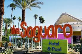 100 Sagauro Palm Springs The Saguaro Our Colorful Coachella Oasis