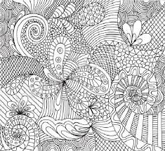 Complicated Coloring Pages For Adults Pattern Trend