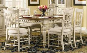 Unique French Country Style Dining Table And Chairs Upholstered Room