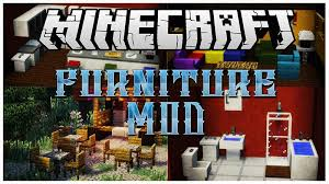Furniture Mod for Minecraft 1 12 1 11 2 1 10 2