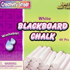 BLACKBOARD CHALK - Walmart.com
