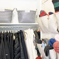 When A Friend Asked If I Could Help Organize Few Spaces In Her Home Was Excited To Show How Much Function We Pack Into Small Coat Closet