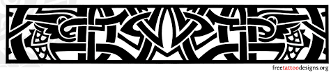 Tribal Armband Tattoo Design Polynesian Style And