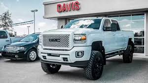 White 2015 Sierra Denali HD Custom Paint Lifted Only In Alberta At ... Gmc Truck W61 370 Heavy Duty Sierra Hd News And Reviews Motor1com Pickups From Upgraded For 2016 Farm Industry Used 2013 2500hd Sale Pricing Features Edmunds 2017 Powerful Diesel Heavy Duty Pickup Trucks 2018 New 3500hd 4wd Crew Cab Long Box At Banks Lighthouse Buick Is A Morton Dealer New Car Allterrain Concept Auto Shows Car Driver Blog Engineers Are Never Satisfied 2015 3500 Beats Ford F350 Ram In Towing