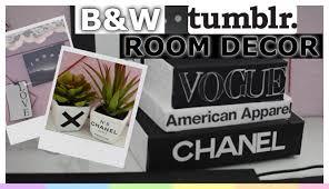 DIY Black & White Tumblr Room Decor EASY & INEXPENSIVE