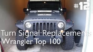 how to install new turn signal bulbs jeep wrangler jk wrangler