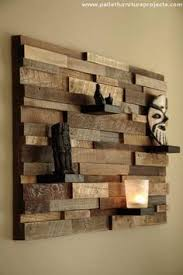 22 Amazing Creative Great Ideas For Wood Wall Art Decor In Reclaimed Shelf Design