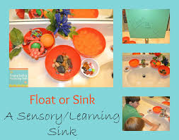 Materials Sink Or Float by Sink Or Float Sensory Sink Learning Activity For The Kids Fspdt