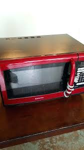 Superb Emerson Red Microwave Walmart