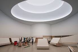 Newmat Light Stretched Ceiling by Guggenheim Exhibit By James Turell Newmat Ceilings Pinterest
