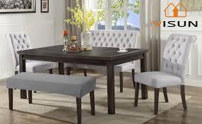 yisun universal bezug für esszimmer bank elastisch stuhlhussen stretch jacquard dining bench cover für esszimmer abnehmbar bezug für