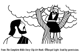 Zacchaeus Meets Jesus Mission Bible Class
