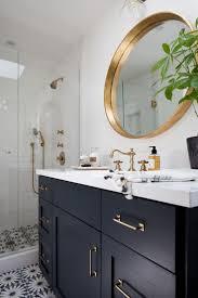 bathrooms design navy blue bathroom vanity cabinet on home decor