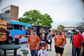 100 Food Trucks Austin Texas UFCU DischFalk Field Longhorns Stadium Journey