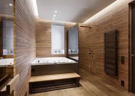 wellness oase mit whirlpool sauna und walk in dusche