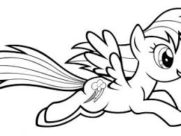 Rainbow Dash Printables Coloring Pages Best