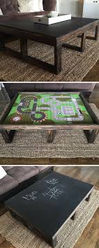 Unique Coffee Table Design In Your Enchanting Living Room ... Storable Game Table Cover 8 Steps With Pictures 21 Free Diy Coffee Plans You Can Build Today Best Rated In Air Hockey Tables Equipment Helpful How To A Rustic Checkerboard Howtos Reclaimed Pallet Epoxy Tabletop Cast Iron Singer Base Hundreds Of Desk Ideas 1001 Pallets 7 Outstanding Small Side Liven Up Your Corner 15 Make Clever Fniture For Spaces 17 Affordable Monopoly Board Instructables Palletbiz