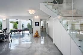 architecture escalier verre interieur style