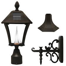 gama sonic baytown solar outdoor led light fixture