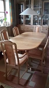 hülsta esszimmer tisch mit 6 stühlen