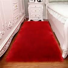 teppich wohnzimmer teppich rechteckigen schlafzimmer soft warme pad luxus home farbe elfenbein schaffell boden tufted erwachsene