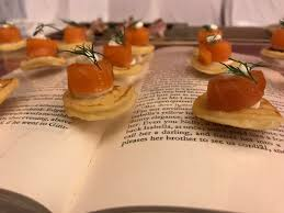 what does canape we finding ways to present our canapé we created this