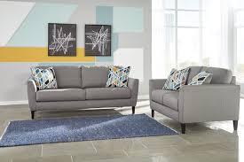 Claremore Antique Sofa And Loveseat by Pelsor Gray Sofa U0026 Loveseat S U0026s Furniture Inc