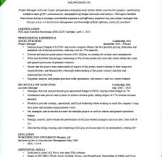Construction Project Manager Resume Template Word Sample Beautiful Excellent Ideas