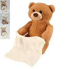 Peek A Boo BearSinging Teddy BearAnimated Talking Bear Birthday Gift Cute