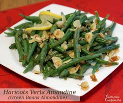 cuisiner des haricots verts haricots verts green beans amandine curious cuisiniere