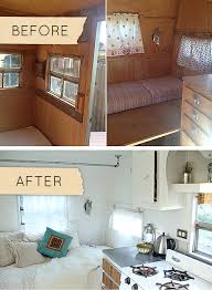 Before After A 1950s Camper Gets Stylish Overhaul DesignSponge