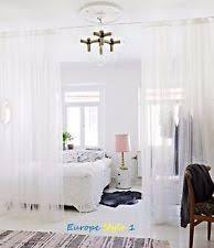 Ikea Lenda Curtains White by Ikea Curtains Ebay