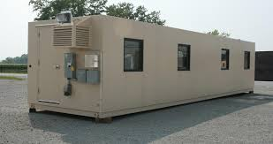 Portable high security office building