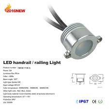 1w led railling light handrail light