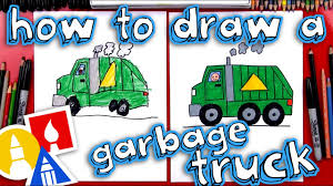 How To Draw A Garbage Truck - YouTube Garbage Truck Videos For Children Toy Bruder And Tonka Diggers Truck Excavator Trash Pack Sewer Playset Vs Angry Birds Minions Play Doh Factory For Kids Youtube Unboxing Garbage Toys Kids Children Number Counting Trucks Count 1 To 10 Simulator 2011 Gameplay Hd Youtube Video Binkie Tv Learn Colors With Funny