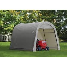 shelterlogic shed in a box 10 ft x 10 ft x 8 ft roundtop