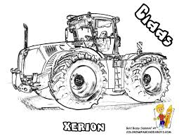 Coloriage Tracteur New Holland Coquet De John Deere A Imprimer