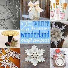 25 Winter Wonderland Craft Projects