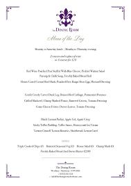 The Dining Room Jonesborough Tn Menu the dining room menu new hotel weirs dining room u0026 banquet hall