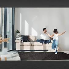 lucahome uganda bambus teppich ideal für drinnen oder draußen bambus teppich für küche wohnzimmer büro schlafzimmer mit rand rutschfester