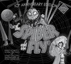 Remains Of The Day Spiders by The Spider And The Fly Book By Mary Howitt Tony Diterlizzi