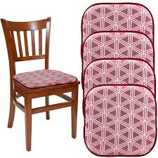 "Dream Home (Set Of 4) Gripper Chair Pads For Office Chairs, 16"" X 16""  Indoor Seat Cushion For Kitchen Chairs, Seat Pillow For Rocking Chair,  Dining ... Glyss Foam Rocking Chair Knightsbridge Fniture Tamela Inserts And Covers For Arrow Print Amazoncom Dj_siphraya Fashioned Patio Deck W 1960s Rocking Chair In Bishopsworth Bristol Gumtree Mandaue Stuff At Calpe Oak Cnc Project Kerf Designed By Boris Goldberg Wamana Tool Industrial Router Bits Vintage Scandart Teak Danish Retro Mid Century Checkers Black White Checkered Cushions Latex Fill"