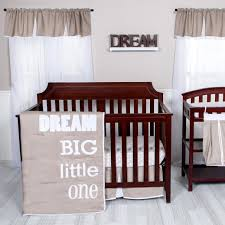 Trend Lab Dream Big Little e 3 Piece Crib Bedding Set Babies