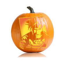 Mike Wazowski Jack O Lantern Pattern by Gambit X Men Pumpkin Carving Stencil Ultimate Pumpkin Stencils